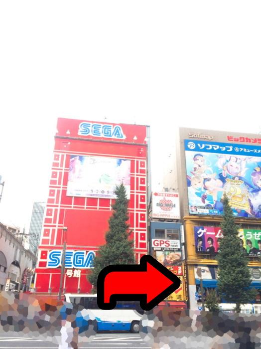 秋葉原駅中央通り